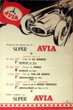 Sport Poster Super Avia