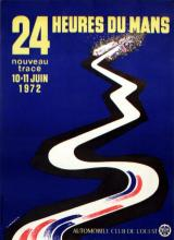 Sport Poster 24 Heures du Mans - 1972