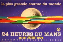 Sport Poster 24 Heures du Mans - 1974