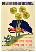 Sport Poster Siracusa Grand Prix 1952