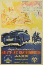 Sport Poster Gastronomical Rallye