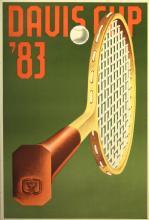 Sport Poster Davis Cup 1983