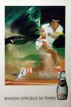 Sport Poster Tennis, Perrier