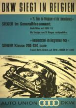 Sport Poster Audi: Union-DKW-Audi