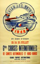 Sport Poster Speed Boats, Grand Prix 1948