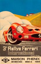Sport Poster Ferrari 250 GTO International Rally