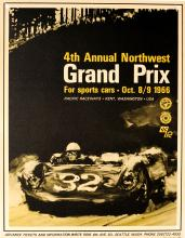Sport Poster Grand Prix Sports Cars USA Porsche 1966
