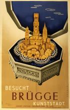 Travel Poster Visit Bruges