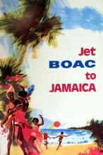Travel Poster BOAC to Jamaica