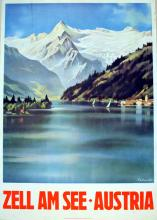 Travel Poster Zell am See - Austria