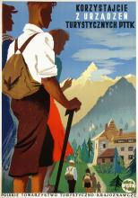 Travel Poster Travel with PTTK