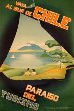Travel Poster Vaya Al Sur de Chile