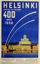 Travel Poster Helsinki