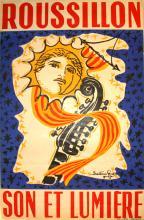 Travel Poster Roussillon, Son et Lumiere
