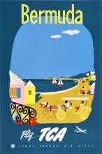 Travel Poster Bermuda - Fly TCA