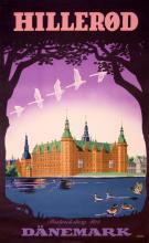 Travel Poster Hillerod