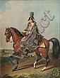 Roman Emperor Franz II on His Horse