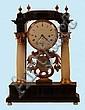 A Biedermeier Table Clock , Schmidt, Prague