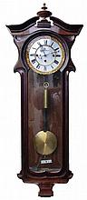 A Pendulum Wall Clock, Late Biedermeier
