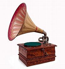 Gramophone with Horn and Coin Deposit