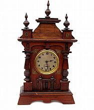 A Small Table Clock with Alarm, Historicism