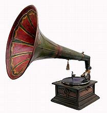 Gramophone with Funnel