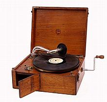 Portable Record Player Leophone