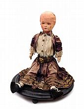 Sitting Doll With A Music Box
