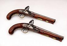 A Pair of Percussion Pistols, Henry Nock