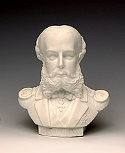 Portrait bust of the Mexican Emperor Maximilian (brother of Franz Joseph)