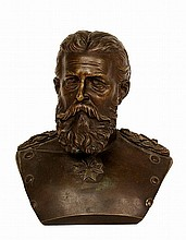 Portrait bust of Emperor Friedrich III.