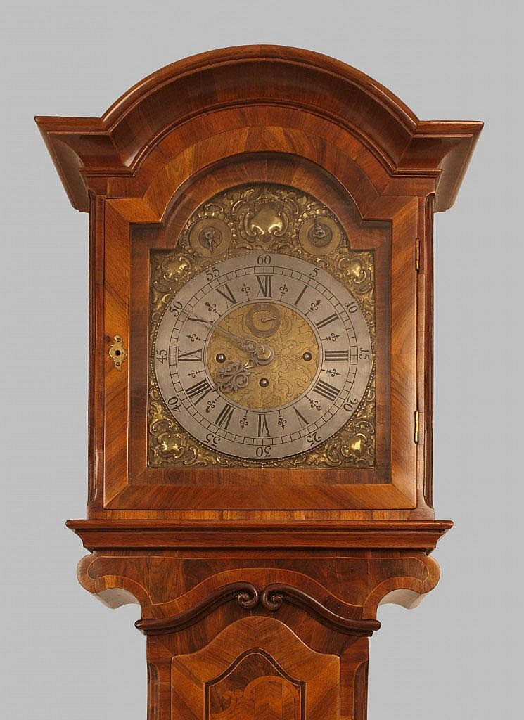Vienna baroque grandfather clock,  Francois Hochenadl