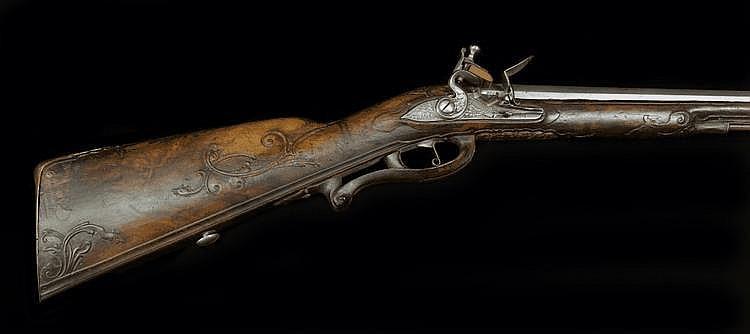 A Flintlock Fowling-piece, Albrecht Wagner