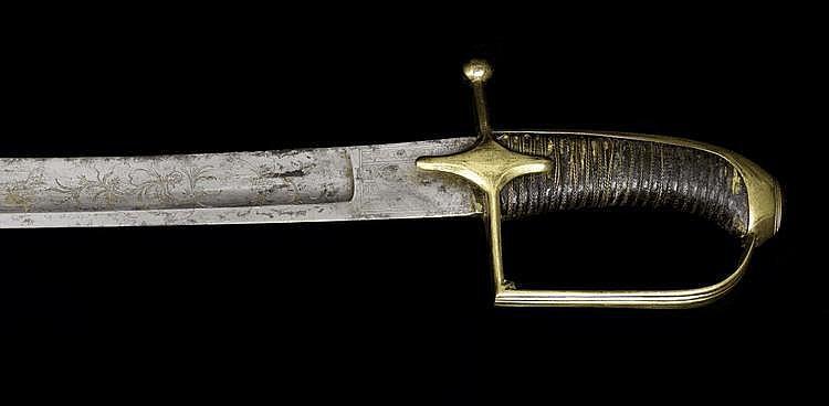 Mounted Jäger Officers´ Sabre 1792 Model