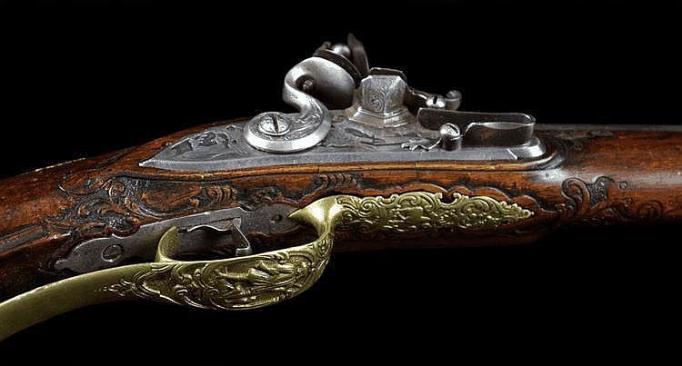 A Flintlock Shotgun