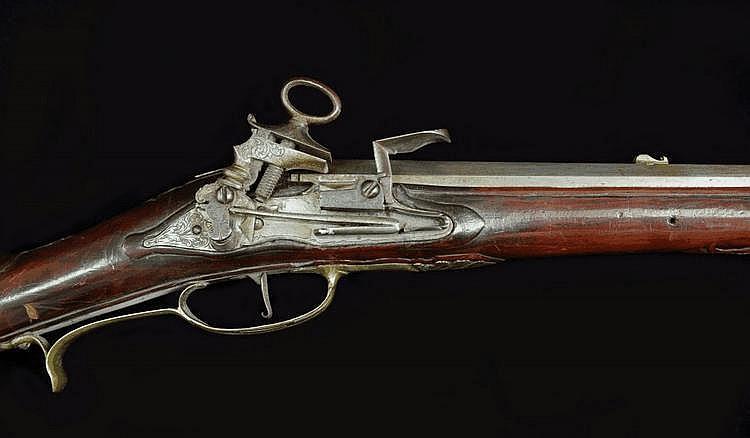 A Long Miquelet-lock Duck Gun