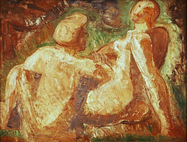 Two nudes, Svatopluk Machal
