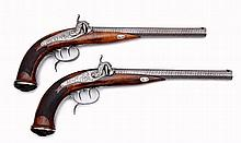 A Pair of Percussion Pistols by Kehlner´s Nephew
