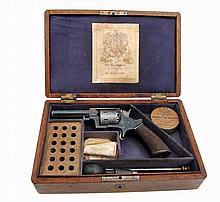 Cased Tranter Model No.2 Rimfire Revolver by Henry Jackson