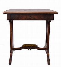 Sewing table, late Biedermeier
