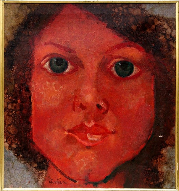 Face of a Girl, Miloslav Cicvárek