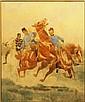 Officers on Horseback, Ludwig Koch