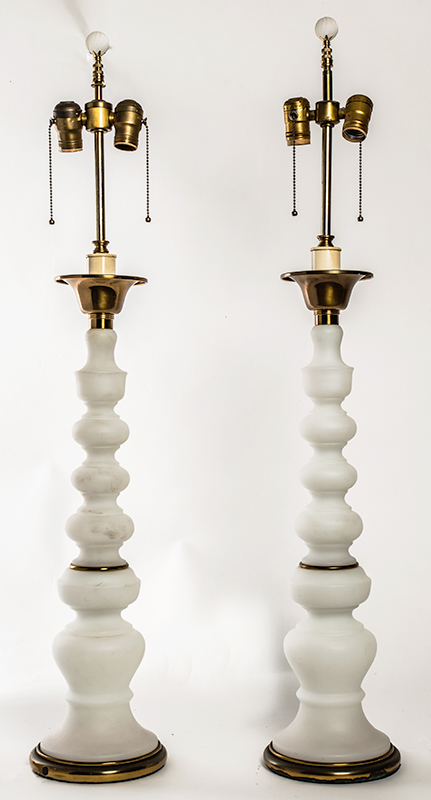 Frosted Glass Lamps