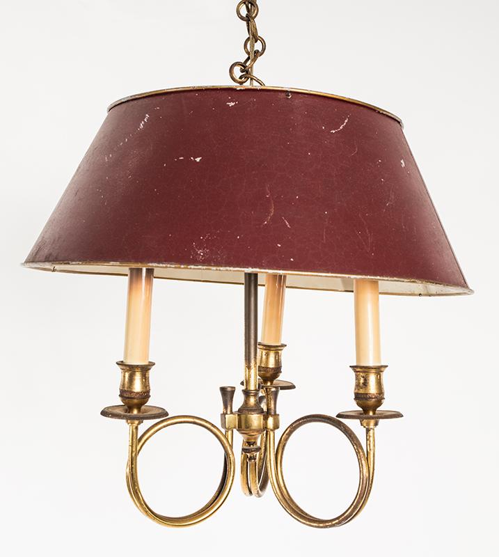 Pair Of Brass Light Fixtures