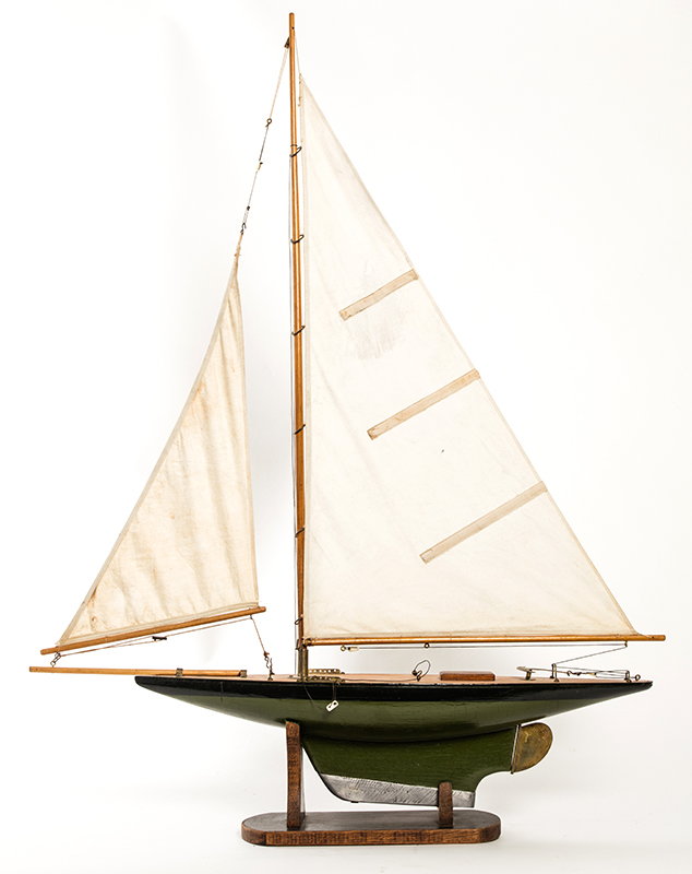Antique American Pond Boat