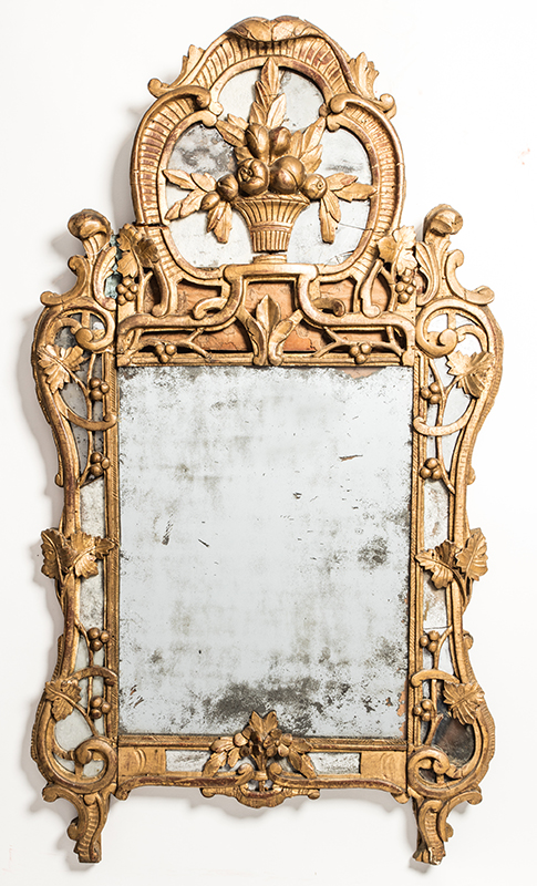 18th Century Continental Style Mirror