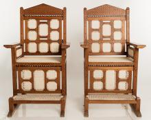 Anglo-Indian Armchairs