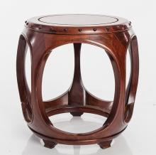 Chinese Barrel Table
