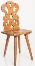 Country Carved Side Chair