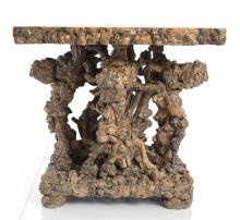 Asian Root Side Table